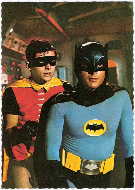 Batman and Robin by Truus, Bob & Jan too! on Flickr.