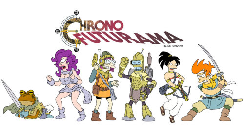 Chrono x Futurama - this is weird, but not as weird as I thought it'd be…