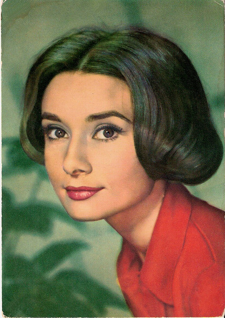 Audrey Hepburn by Truus, Bob & Jan too! on Flickr.