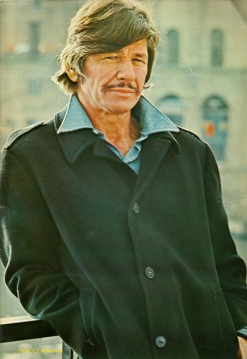 Charles Bronson you ugly motherfucker.