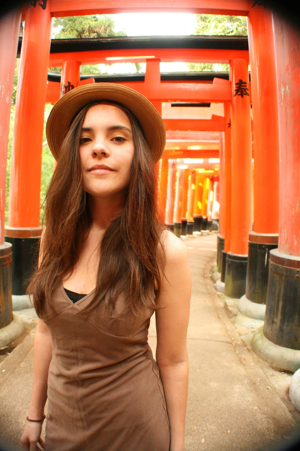 Kiki at Fushimi Inari Taisha (Sunday May 13, 2012)