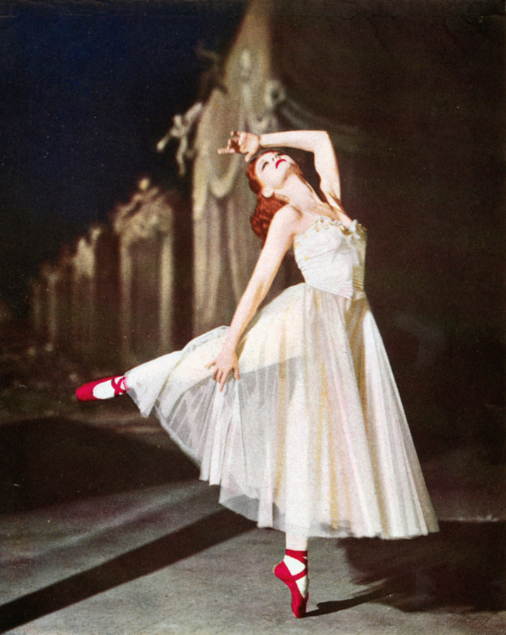 toninetica:  Moira Shearer in The Red Shoes 1948