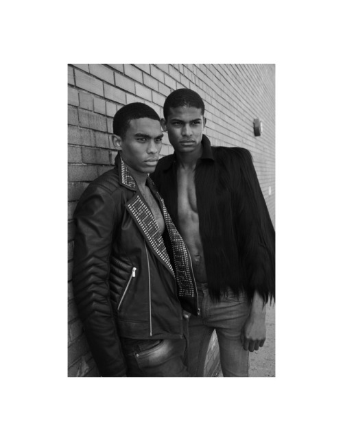 Andrew Gonzalez and Vince Harrington photographed by Danny Lang