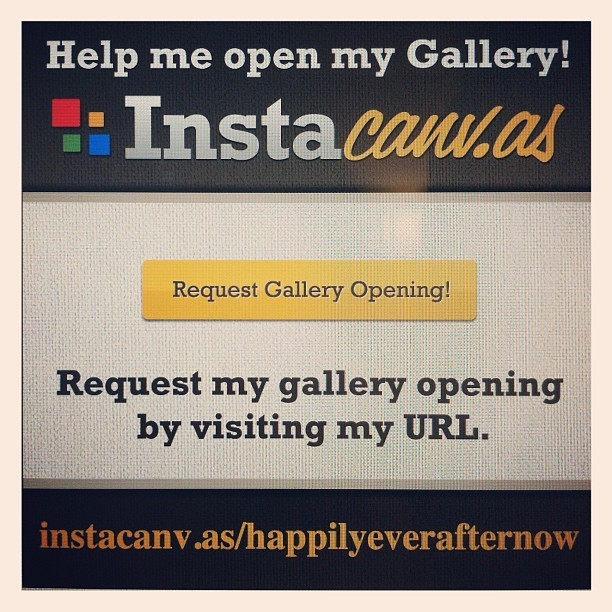 Help me open my Instagram gallery by visiting instacanv.as/happilyeverafternow ! :)