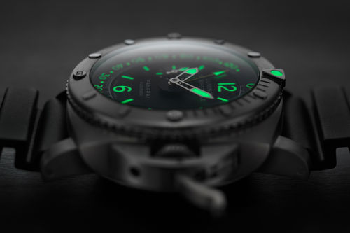 Odličan nightshot Panerai Luminor Submersible Depth Gauge ronilačkog sata…