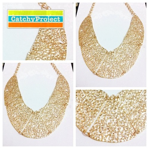 #catchyproject #fashion #fashionista #necklace #statementnecklace #jual #jualan (Taken with instagram)