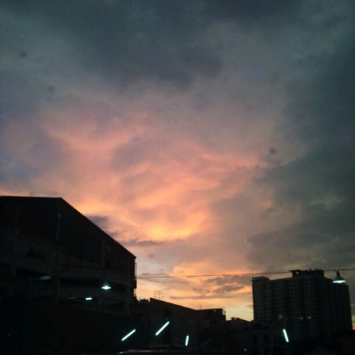 #sky #cloud #sunset (Taken with instagram)