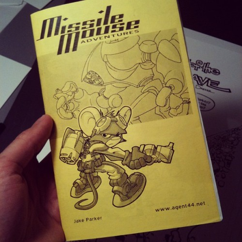 Missile Mouse ashcan from 2001. Ancient history right here. (Taken with instagram)