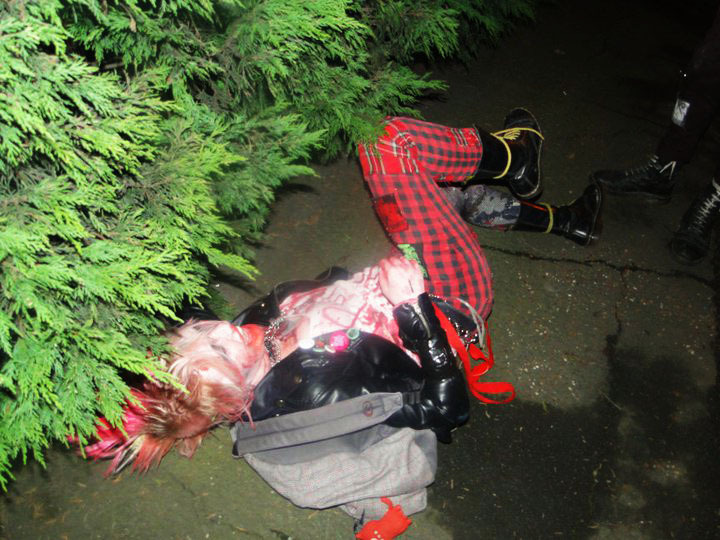 Yep, another zombie photo! Definitely wasn't intoxicated…