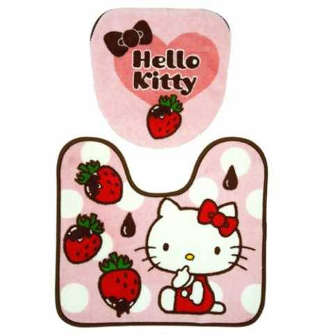Hello kitty Toilet Seat Cover and Floor Mat AND toilet paper holder case set http://www.flutterscape.com/product/no/22136/sanrio-hello-kitty-toilet-seat-cover-and-floor-mat-and-toilet-paper-holder-case-set?discovery_id=25186