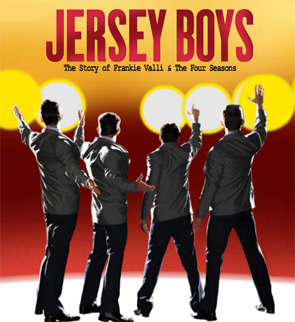Matt and I saw Jersey Boys at KC's Music Hall yesterday afternoon. It was fantastic. I'll try to post more about it later, but per usual, I'm running late for work….. Happy Monday!!!
