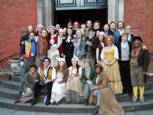 100 Photos of the Current London Cast of Les Misérables - 4/100