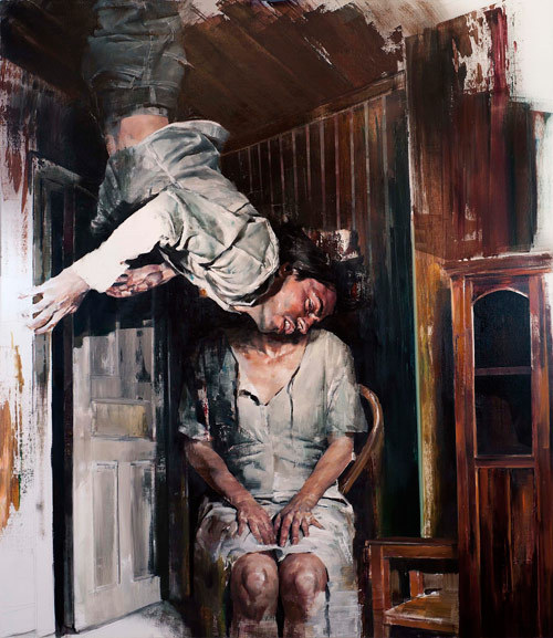 Stunning paintings by Dan Voinea.