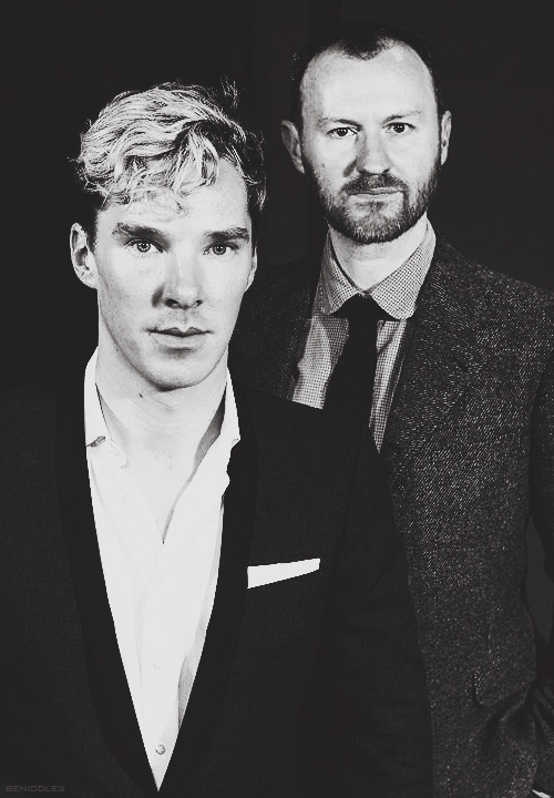 The Holmes Brothers Mark Gatiss and Benedict Cumberbatch