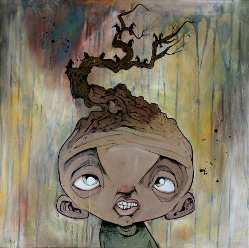 All Billy Did was THINK about the tree by Josh Taylor