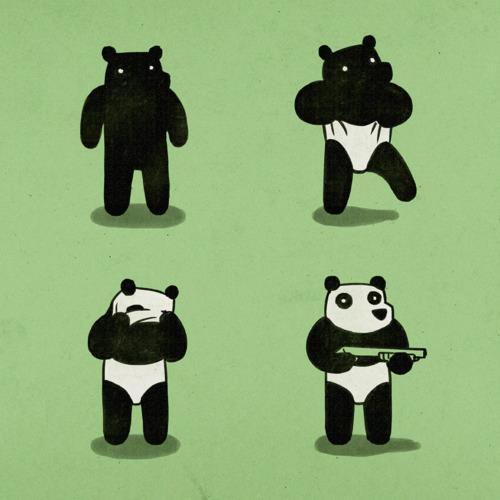 The real story behind how pandas look…