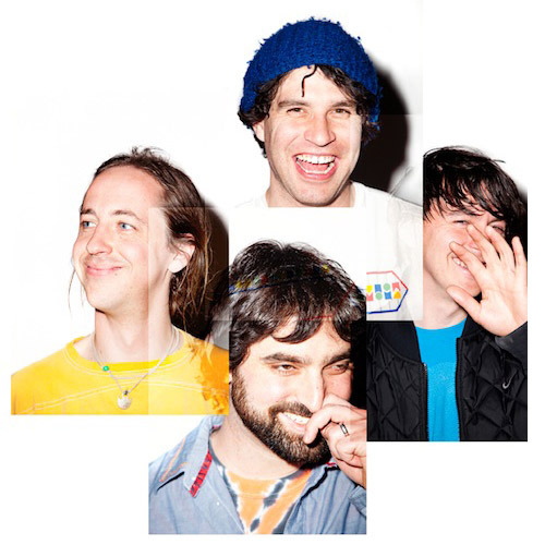 Animal Collective's new album, Centipede Hz, is out in September via Domino. Photo by Atiba Jefferson.
