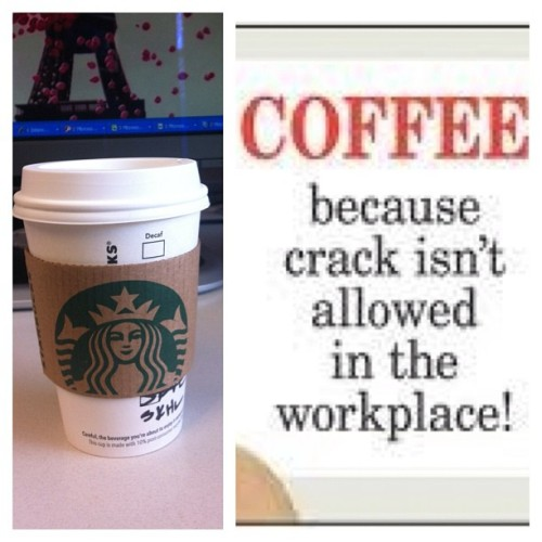 For some reason ecards, are funnier at work. #Coffee #ecards #corporatehell #office #monday #starbucks #photoaday  (Taken with instagram)