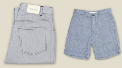 Barque's lightweight slim fit jeans and cotton shorts