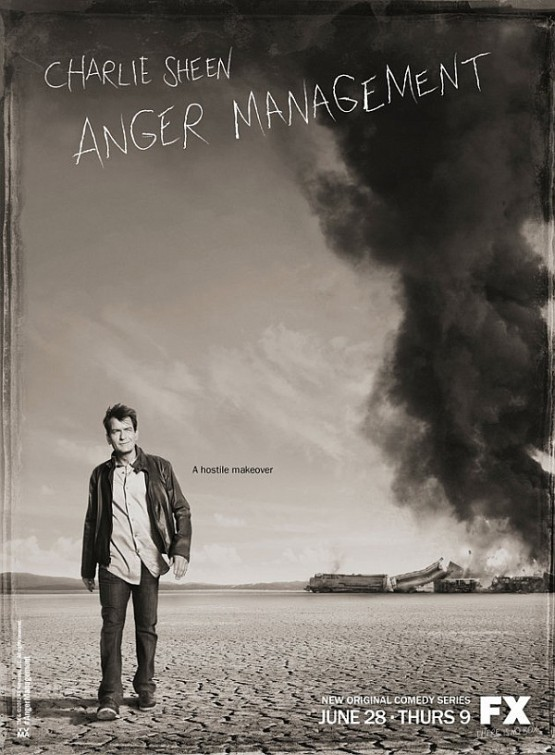 Charlie Sheen in Anger Management - June 28 on FX