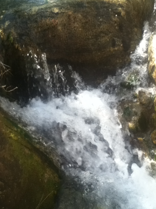 A waterfall from the hike I took Saturday :)