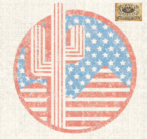 TRAVOIS GOODS CO. AMERICAN FLAG DESERT