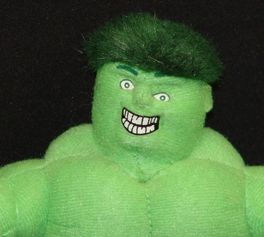 skullgreymon:  the incredible hulk: a photoset  reminds me of one my brother has that I dubbed the Incrabble Herk