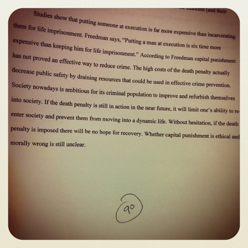 8-Pages, 90%! HYFR!! #eng101 #english  #hammertime #bigsean  #nickiminaj #thor #hammer #avengers #theweeknd #weeknd #music #wickedgames #houseofballoons #thursday #echoesofsilence  #instagood #instsgram #happyhour #drink #starbucks #flowers #may #lmao #lmfao #funny #hilarious #priceless   #punk #punked #prank #iphonelock #iphonelocked  (Taken with Instagram at Building 21 (Advanced Technology) VVC)