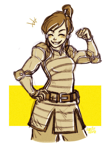 donono:  just wanted to see what Korra would look like if she were wearing the metal-bender cops' uniform -v- /flies into bed