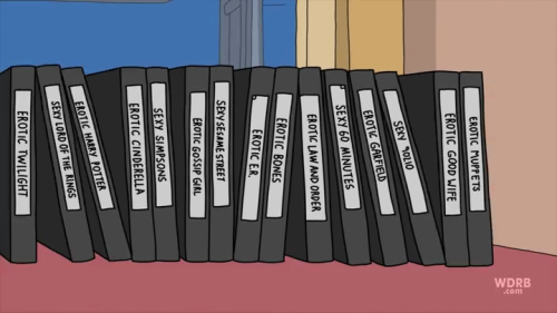 tvhangover:  Bob's Burgers remains one of the funniest shows on television. I can't decide which one of Tina's fan fiction collection is my favorite but I'm leaning toward Sexy 60 Minutes.