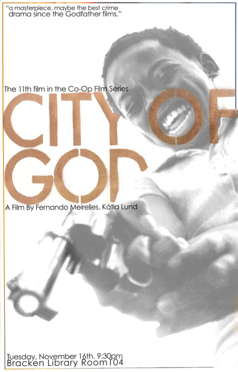 City of God by Travis Harvey