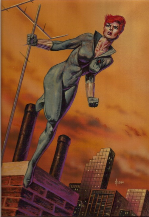 Black Widow by Joe Jusko.