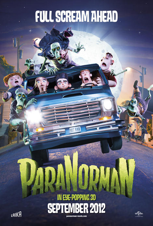 ParaNorman Poster: World exclusive first look ParaNorman had our hearts from its very first trailer, so we're really excited to be able to reveal the world exclusive first look at the UK poster…