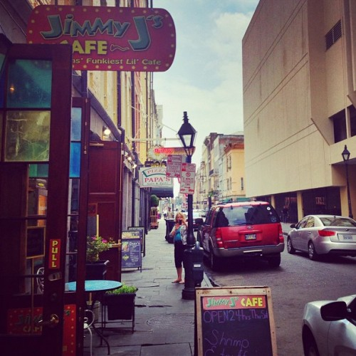 Hanging out in NOLA with mom! Life is good.  (Taken with instagram)