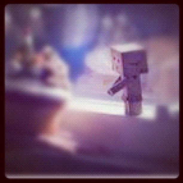#awesome #cute #robotbox #cake #cupcake  (Taken with instagram)