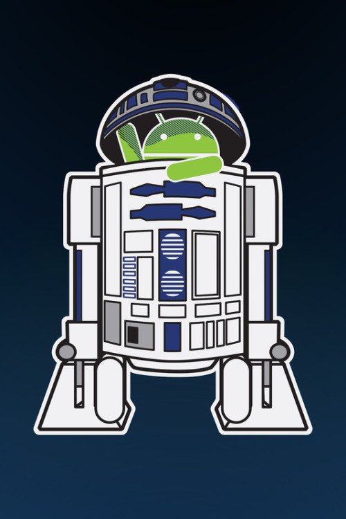tiefighters:  A Droid in you Droid  Created by Malc Foy Prints available at Society6 Flickr || Twitter || Tumblr  Yo dawg I heard you liked droids..