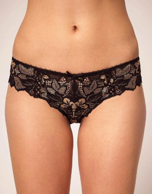 Lepel Black Gold Fiore Mini BriefMore photos & another fashion brands: bit.ly/JgQ4gd