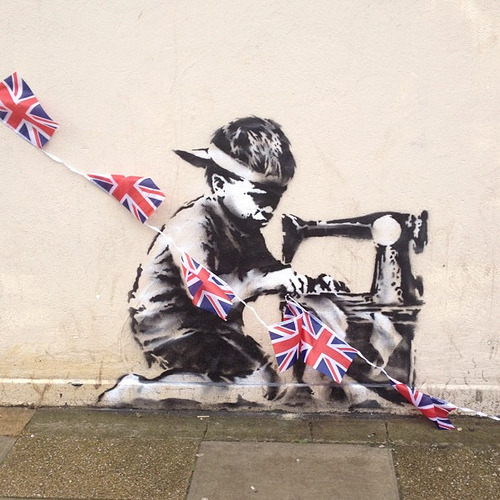 banksystreetart:  New Banksy? What do you think?