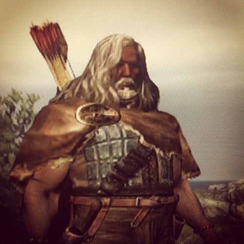 This is Misty: my Dragon's Dogma character. He's a sassy adventurer that knows what he wants and how to get it. (Taken with instagram)