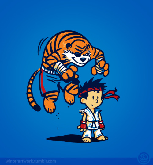 "insanelygaming:  ""Tiger!"" Created by winterartworkAvailable on RedBubble"