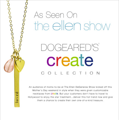 We're thrilled to be one of Ellen's 'amazing' Mother's Day giveaways! Check us out at the 9:30 mark! :)  http://goo.gl/x8iAQ