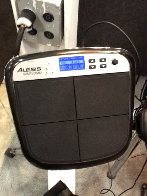 MIAC 2012 - Alesis Samplepad  I didn't want to like this one, but the pads have a great feel…sounds are pretty standard, but not bad - would be a great choice as a percussion MIDI controller, if not for the rumored hardware problems. Pity.