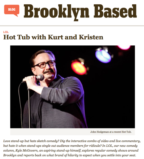 Thanks to Brooklyn Based for the shout out! And it's true, Queens is invited.