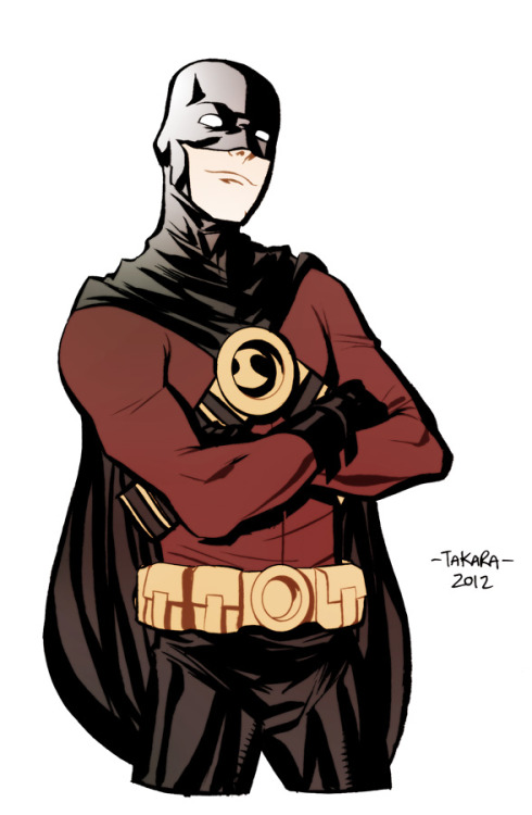 marcusto:  mtakara:  Red Robin! dedicated to my buddy buddy Marcus To.  You're so sweet Marcio :)  My favorite artists drawing my favorite characters!