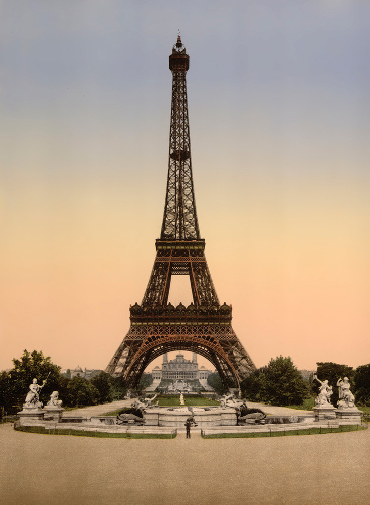 Eiffel Tower, Exposition Universelle, 1900 by 20x200 Artist Fund | Buy the limited-edition art on 20x200.com here.