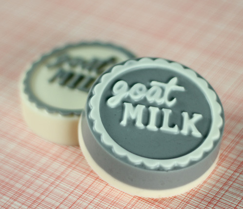 Got goat milk? This super cute Goat Milk Soap is sure to be a hit with all the milk lovers in your life this summer!