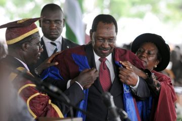 "crisisgroup:  Global Post | Nigerian universities demand bribes for admission By: Heather Murdock ABUJA, Nigeria — Every year about 1 million Nigerian students pass college entrance exams, but the country's universities can admit only 300,000. The shortage of university places leaves most of Nigeria's best students frustrated and uneducated, according to Kabir Mato, director of the Institute for Anti-Corruption Studies at the University of Abuja. ""There is a tremendous national crisis that is at hand,"" Mato told GlobalPost. ""At the end of the day, most of those boys and girls that have passed very well will not be accommodated and so they will grow hopeless."" Mato said the inability of Nigeria's 122 universities to take on most of their qualified applicants is a national security concern because it drives unemployed young people onto the streets and possibly into extremist groups like Boko Haram, which has killed 450 people so far this year with their protest bombings. Many would-be students, however, say they are not interested in joining militias; they just want to get a good job. Mato said since many of Nigeria's young people are unable to go to college, the economy also suffers from a lack of local innovation and educated employees. Prospective university students say the fact that there are not enough university places is not nearly as frustrating as the corruption and nepotism of the application process. FULL ARTICLE (Global Post)"