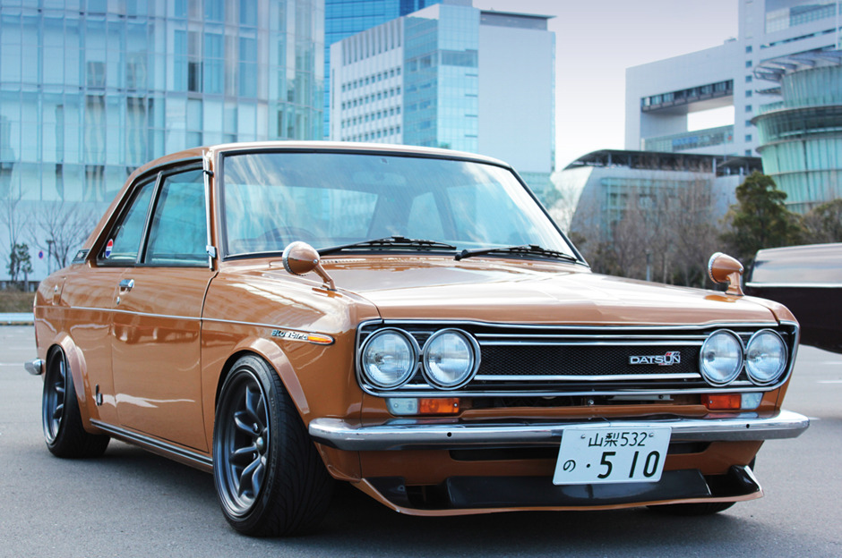 i want a cool car like this =] datsun 510