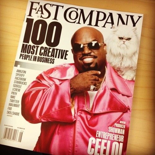 CeeLo on Fastcompany