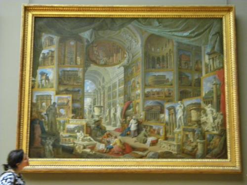 louvre müzesi tablo detay kendin dik